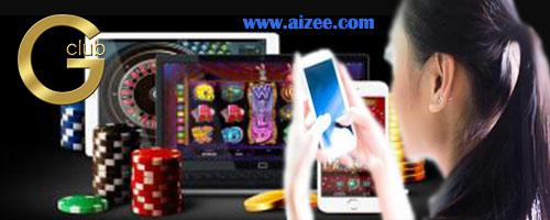 เว็บจีคลับออนไลน์ สร้างความสนุกสีสันในการแทงเกมส์คาสิโนได้มากที่สุด
